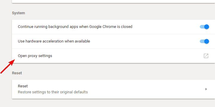 vpn not working with chrome