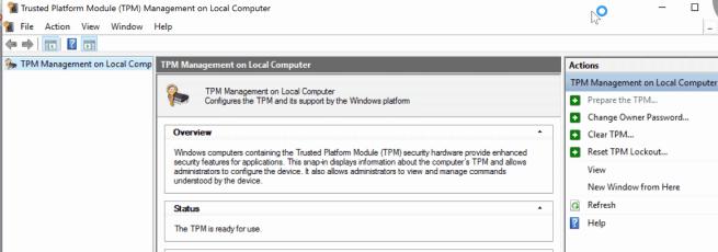 TPM trusted Platform Module