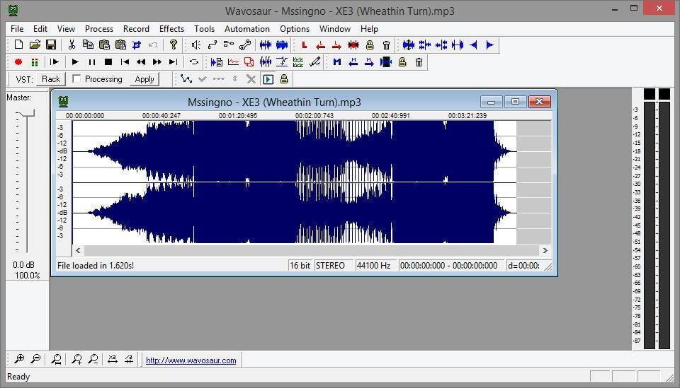 wavosaur - audio recording for win10 with timestamps