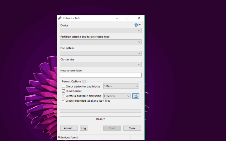 Rufus software how to enter recovery mode windows 10