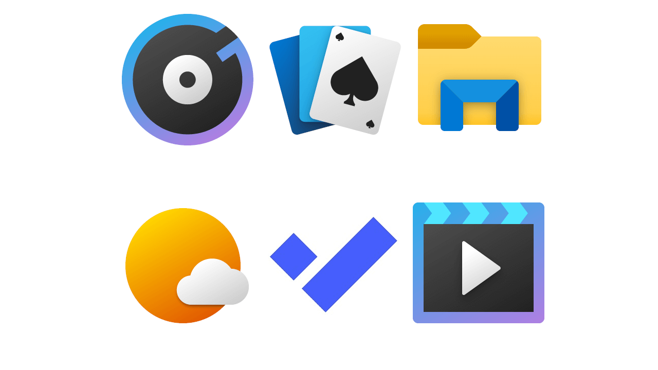 New Windows 10 app icons bring more colour to your desktop