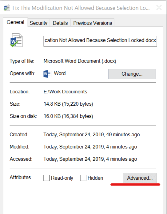 This Modification Is Not Allowed Because The Selection Is Locked : modification, allowed, because, selection, locked, Modification, Allowed, Error, Office, [SOLVED]