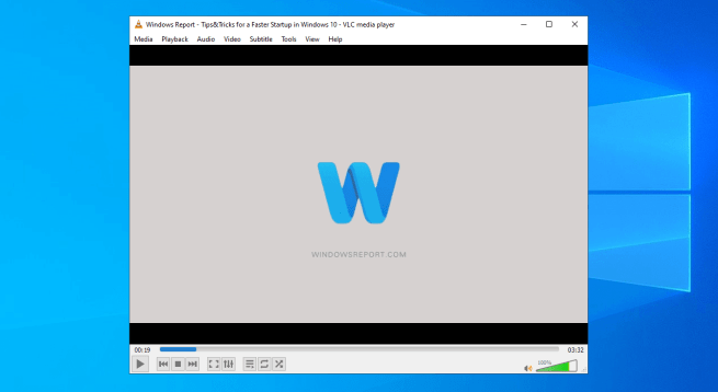 VLC Media Player main window