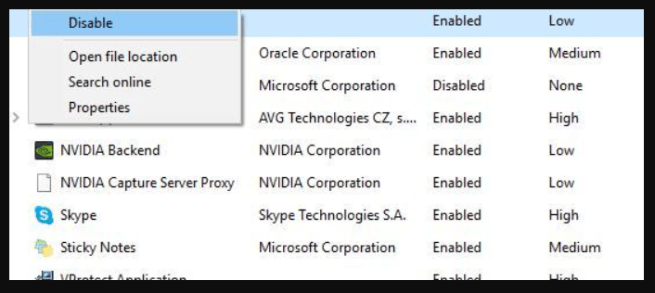 Disable Broadcom to fix this app can't run on your pc windows 10 error