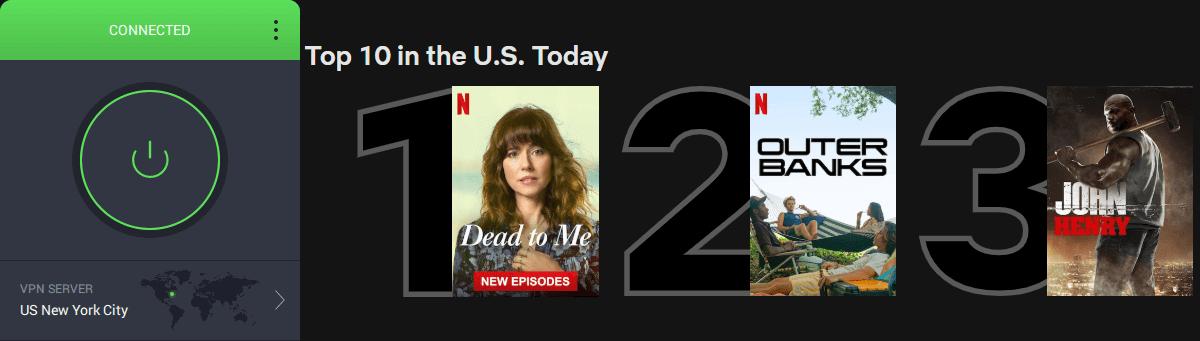 PIA unlocks Netflix US in Japan