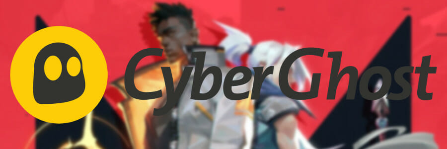 use CyberGhost VPN for Valorant
