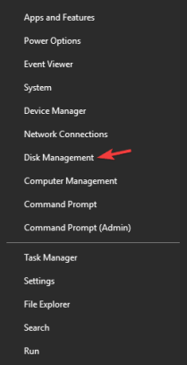 disk management samsung t5 ssd not recognized