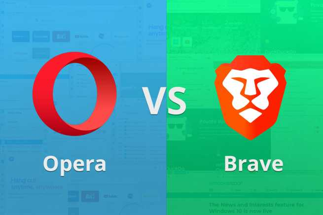 opera vs brave browsers