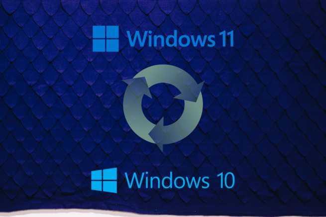 Windows 11 to Windows 10