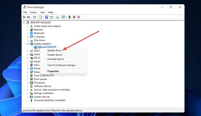 Update driver option windows 11 valorant fps drops