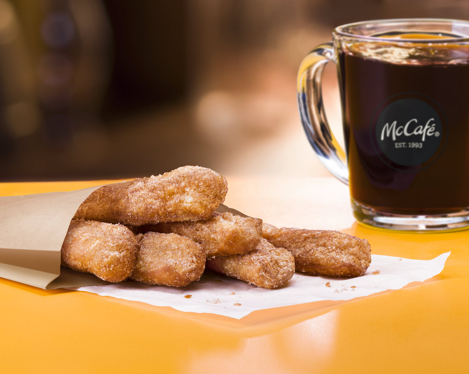 McDonalds reports strong sales thanks to donut sticks