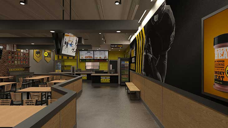 Buffalo Wild Wings previews new delivery  takeout concept