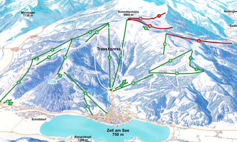 Het tracé van de TrassXpress