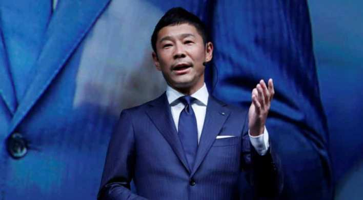 Image result for japanese yusaku maezawa