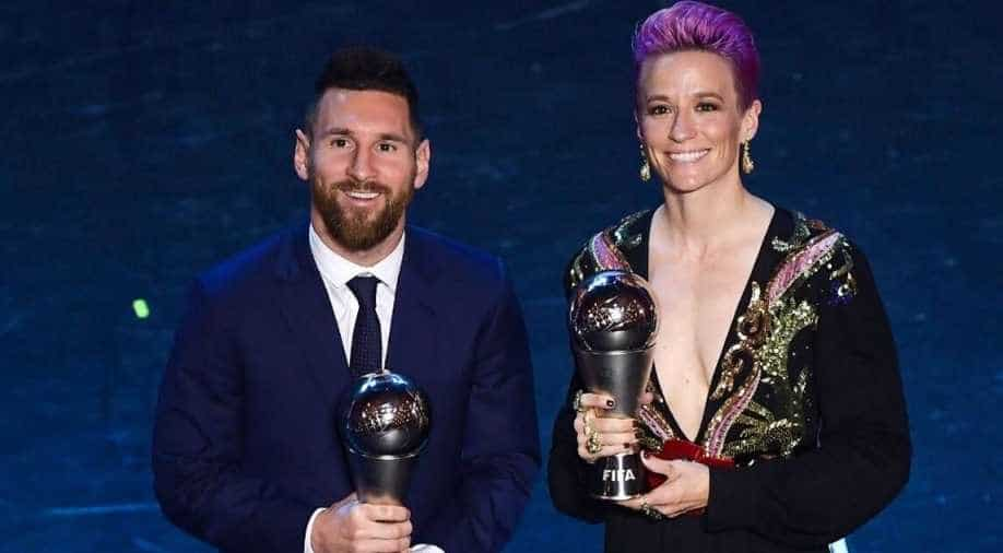 Messi And Rapinoe Expected To Take Ballon D Or Honours