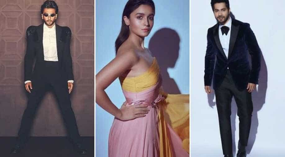 Filmfare Awards 2020 Ranveer Singh Alia Bhatt And Other