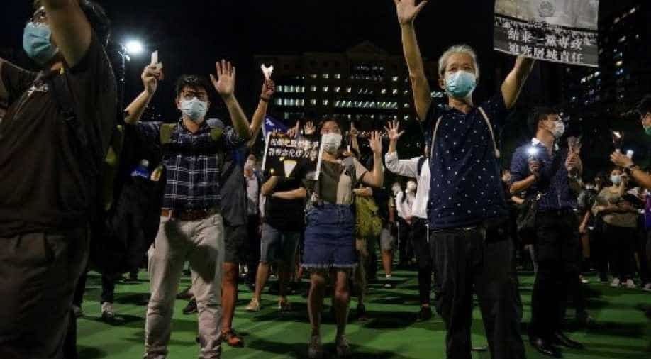 Mass protests in Hong Kong over Tiananmen massacre. World News | wionews.com