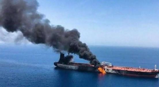 iran attack oil tanker