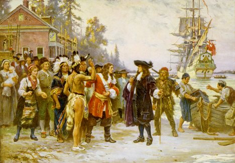 The Arrival of William Penn (JLG Ferris)