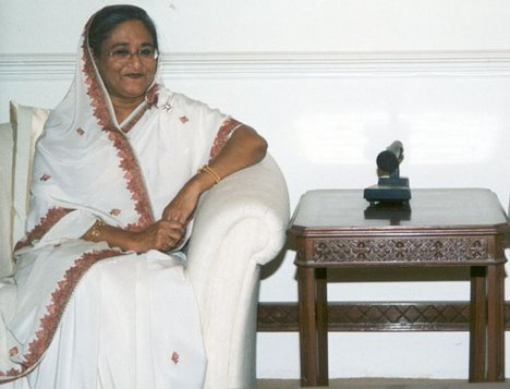Bangladesh Prime Minister Sk Hasina