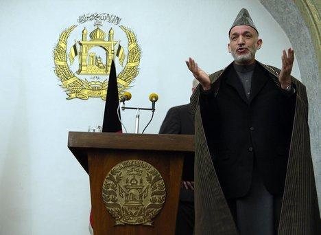 Karzai... Entre doses? (http://cdn.wn.com)