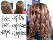 wonderful diy waterfall braid hairstyle
