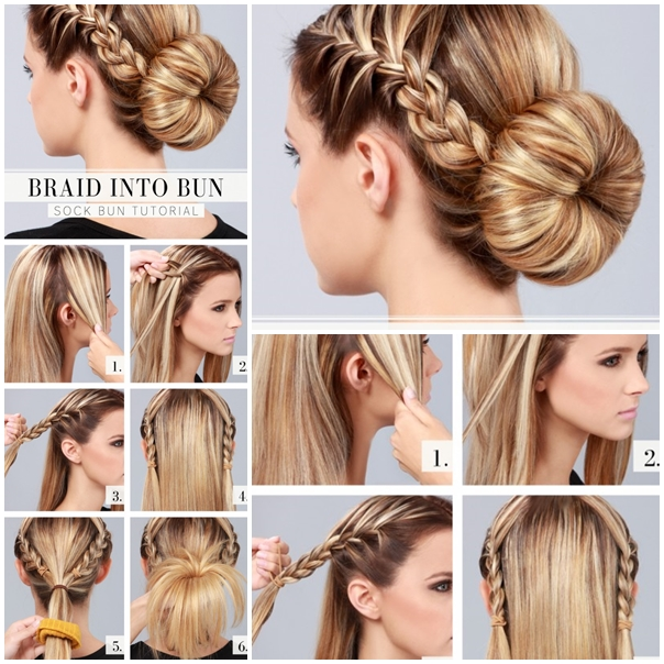 Awesome How To Do A Bun Hairstyle Photos Everyday Style Ideas