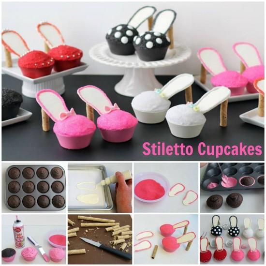 Wonderful High Heel Cupcakes Tutorial