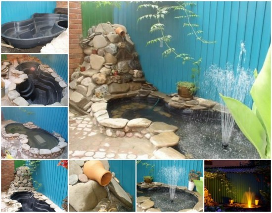 Wonderful Diy Garden Ponds From Old Tires