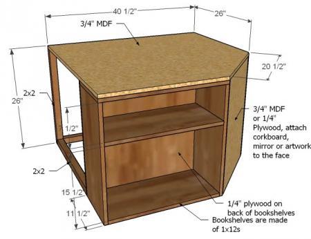 space saving twin bed corner unit