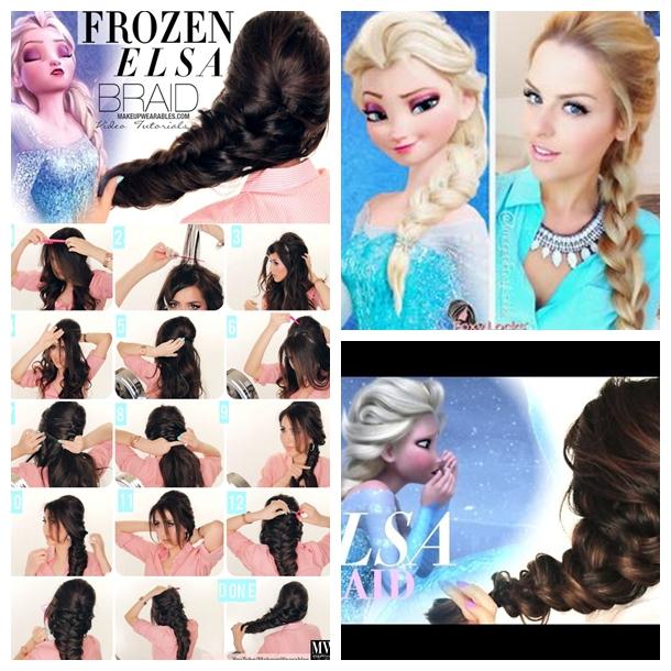 Wonderful DIY Disney Frozen Elsa's Hairstyle