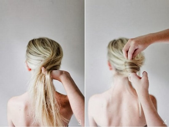 Wonderful DIY Messy French Twist Hairstyle