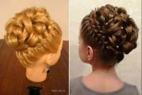Wonderful DIY Elegant Hairstyle With Braids and Curls