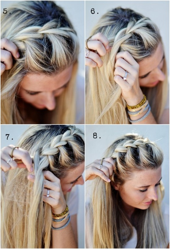 DIY Half Up Side French Braid Hairstyle – Simple To Follow Guide