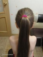 wonderful diy pretty heart ponytail