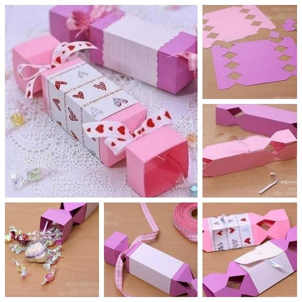 Wonderful DIY Lovely Candy Shaped Gift Box