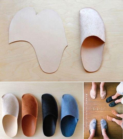 simple diy homemade slippers