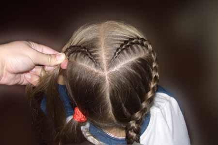 Wondeful DIY Sweet Heart Braid Hairstyle