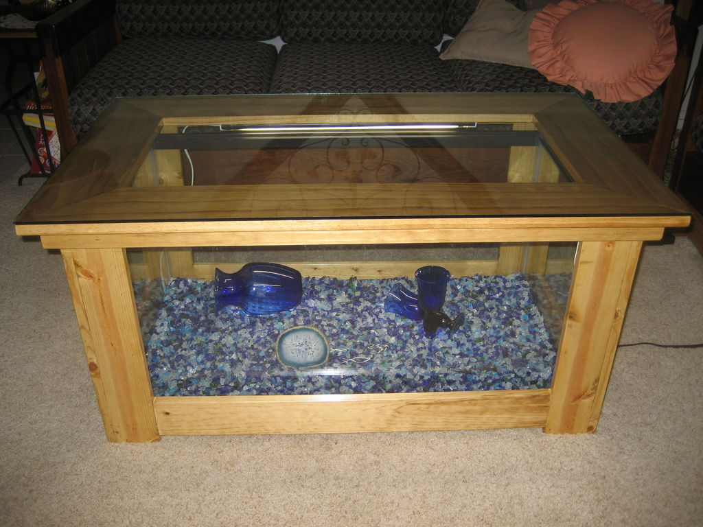 - Wire Couchtisch Spectacular Diy Fish Tank Coffee Table - Free Guide And