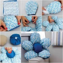 Sewing Patterns For Patio Chair Cushions Desk Junior Wonderful Diy Flower Shaped Cushion
