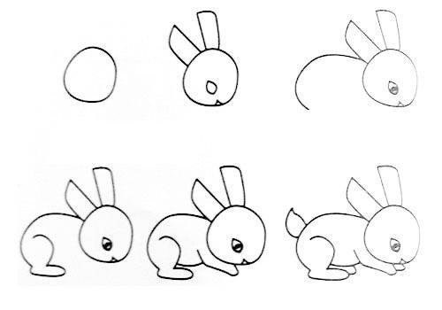 Wonderful Idea For Drawing Easy Animal Figures