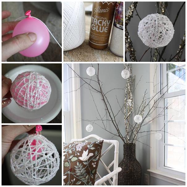 Snowball Christmas Decorations