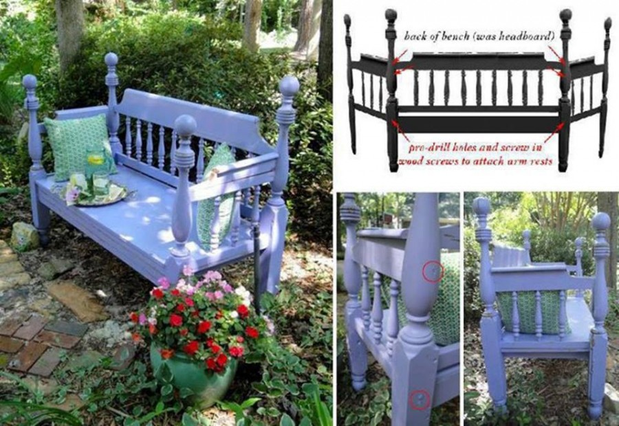 folding chair bed velvet dining chairs canada wonderful diy upcycled dresser bench