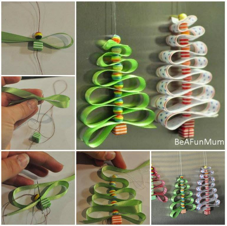 Diy Christmas Tree Ornaments Pinterest