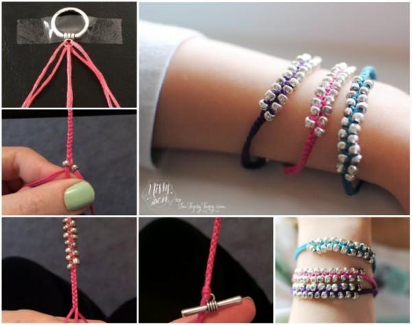 Wonderful DIY Beaded Safety Pin Jewelry