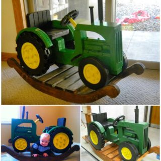 rocking chair cradle deep seat patio chairs without cushions wonderful diy with a crib incredible john deer tractor