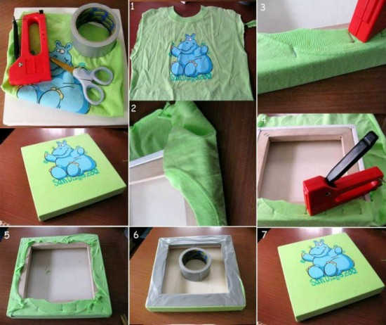 Wonderful DIY Easy Kids TShirt Art