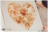 Delightful DIY Paper Flower Wall Art