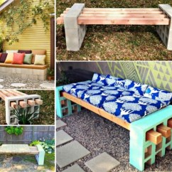 Folding Chair Picnic Table Rental Covers For Sale Wonderful Diy Cinder Block Bench