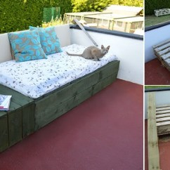 Diy Sofa From Pallets Pull Out Sectional 50 Wonderful Pallet Furniture Ideas And Tutorials View In Gallery Outdoor Tutorials20